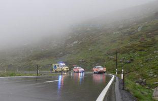 Motorradlenker bei Verkehrunfall in Davos von der Fahrbahn abgekommen: Schwer verletzt