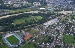 Aargau AG - Hochwasser: Meiden Sie weiterhin die Uferzonen!