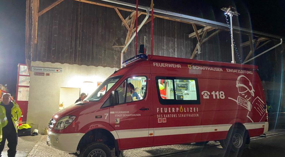 Schaffhausen: Mehrere Unwettermeldungen im Kantonsgebiet