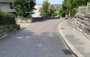 Fahrradfahrer nach Alleinunfall in Schaffhausen verletzt