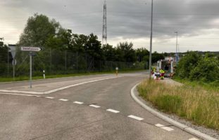 Steinhausen ZG: Verkehrsunfall zwischen Lernfahrer und Fahrradlenker