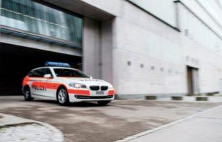 Luzern - Feuerwerksbatterien, Feuerwerkskörper und Knallkörper gezündet