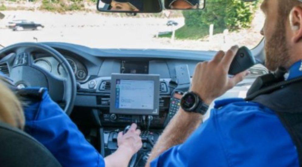 Verkehrspolizeiliche Grosskontrolle in Oberrieden