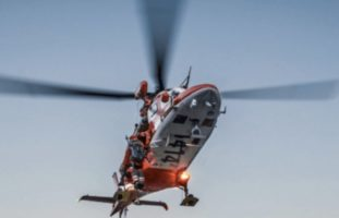 Selbstunfall Realp UR: Töfffahrer ins Spital geflogen