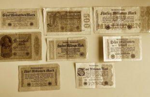 Alte Reichsbanknoten in Uster gefunden