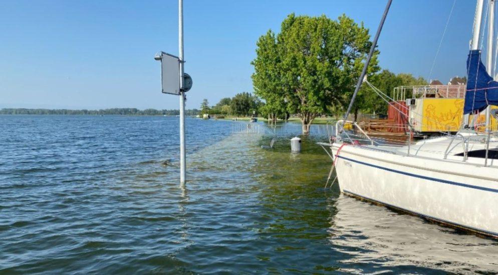Schifffahrtsverbot in Freiburg verlängert
