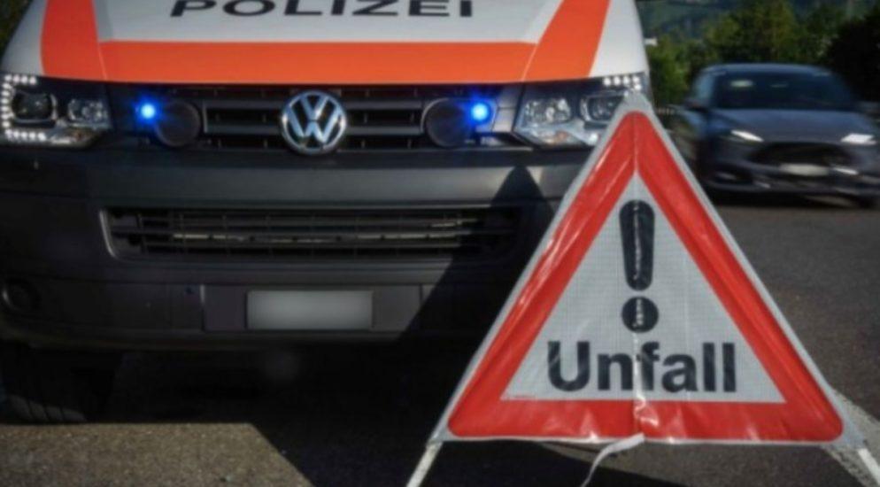Verkehrsunfall in Schinznach Dorf fordert mehrere Verletzte
