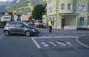 Altdorf UR: Crash zwischen zwei PW
