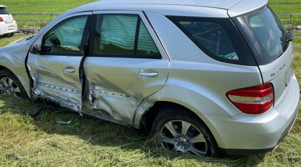 Verkehrsunfall in Wauwil LU: Mann erheblich verletzt ins Spital geflogen