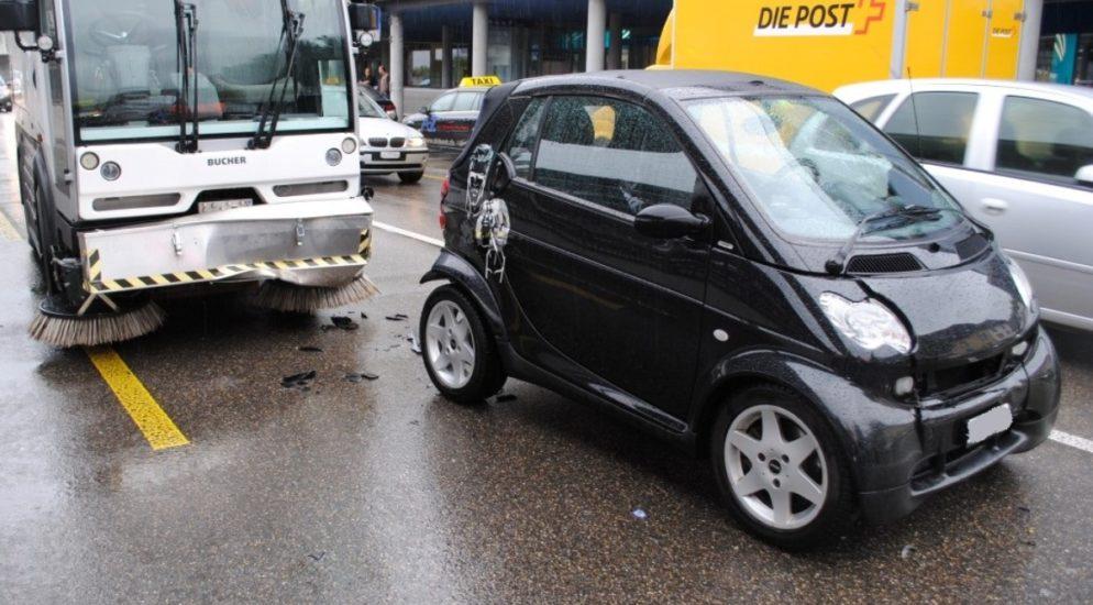 Auffahrunfall auf der Spitalstrasse in Schaffhausen