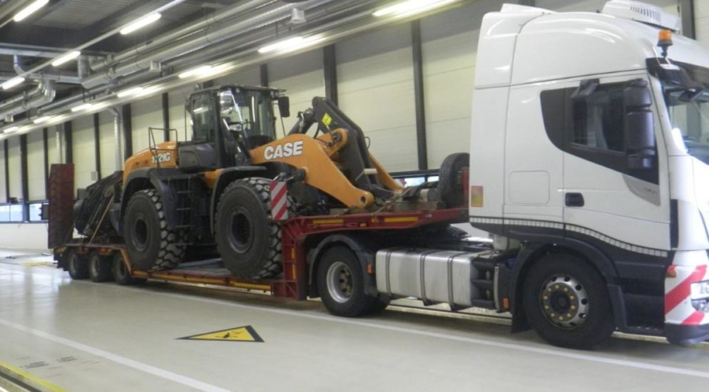 Ausnahmetransport nach Kontrolle auf A2 in Silenen stillgelegt