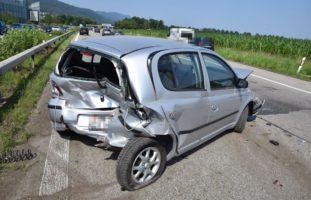 Oensingen SO - Autolenker bei Auffahrkollision auf der A1 verletzt