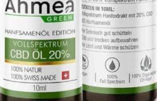 Rückruf Schweiz - CBD-Öl der Firma Ahmea GREEN AG nicht mehr verwenden