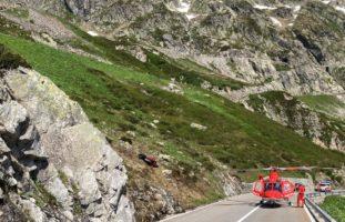 Schwerer Verkehrsunfall in Wassen Richtung Sustenpass