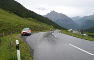 La Punt-Chamues-ch GR: Zwei Verletzte nach Verkehrsunfall