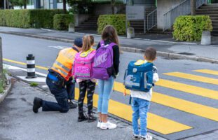 Chur GR: Intensivierte Verkehrskontrollen zu Gunsten der Schulkinder