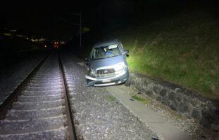 Bahnunfall in Romont FR