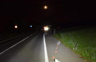 Lenker (18) baut Unfall in Hundwil AR