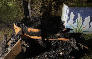 Reinach BL - Brand erfordert Feuerwehreinsatz