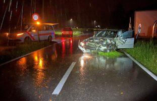 Mann (20) gibt Gas und verunfallt heftig in Amriswil TG