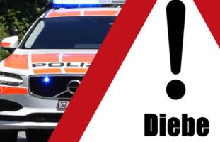 Kanton Schwyz - Autos nie unverschlossen lassen wegen Dieben