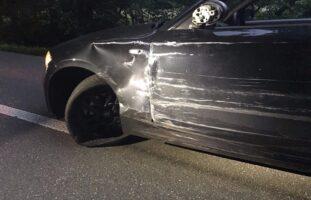 Stadt Schaffhausen: Heftiger Crash zwischen zwei Autos