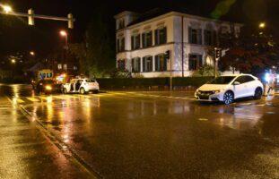 Rapperswil-Jona SG: Verkehrsunfall mit drei beteiligten Autos