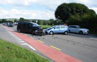 Oberbüren SG: Crash zwischen zwei Autos