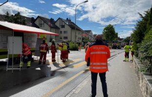 Watt ZH - Hoher Sachschaden nach Brand