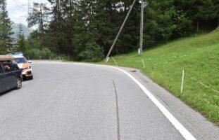 Splügen GR: Motorradfahrer bei Sturz auf Splügenpass verletzt