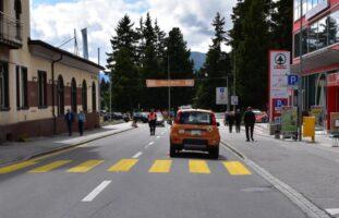Davos Dorf: Fussgänger angefahren