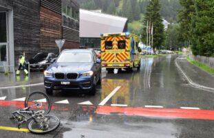Davos Platz: 14-Jähriger bei Unfall verletzt